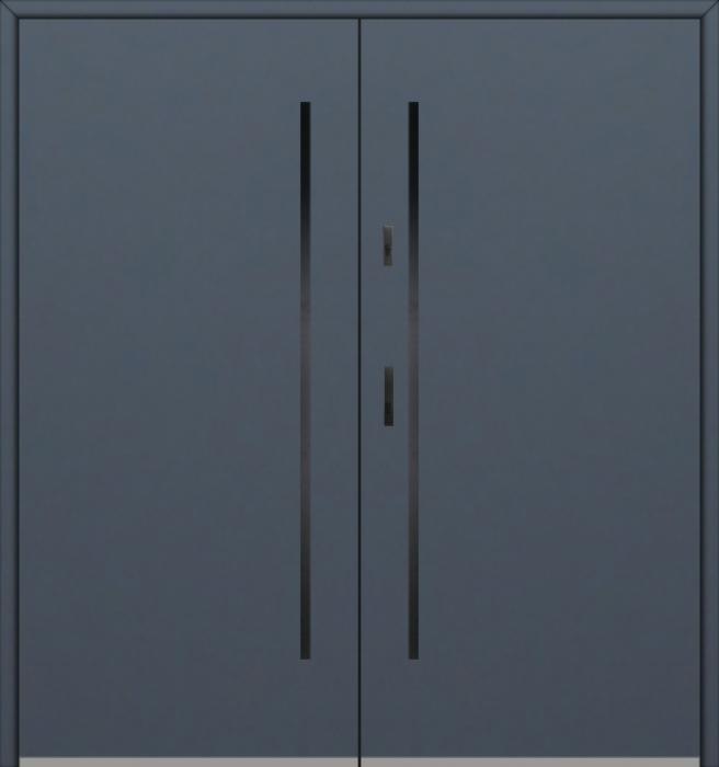 Fargo 1 double - portes d'entrée double / portes françaises