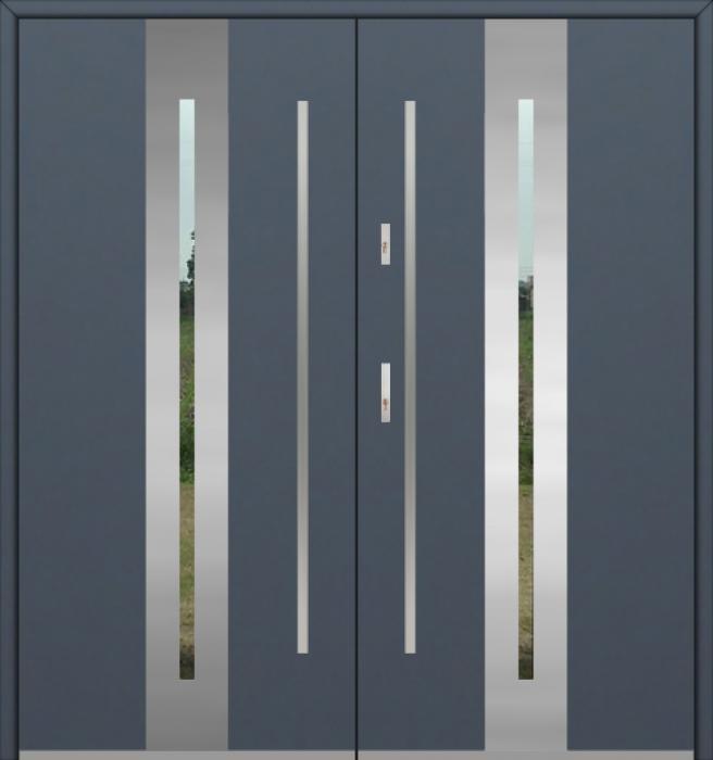 Fargo 26A double - portes d'entrée double / portes françaises