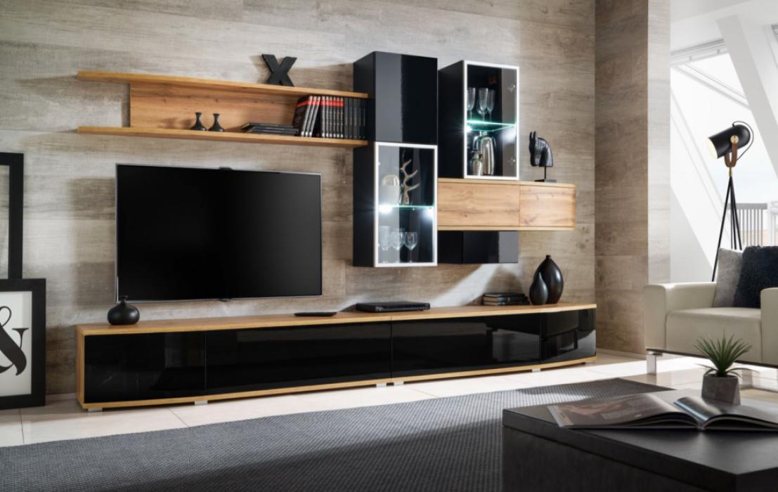 Asman -  Meuble tv contemporain