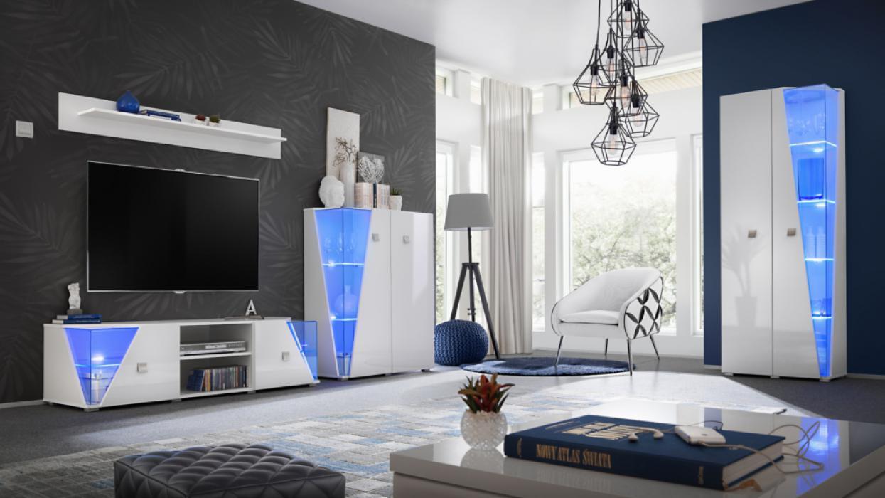 Elgin - intérieur meuble tv
