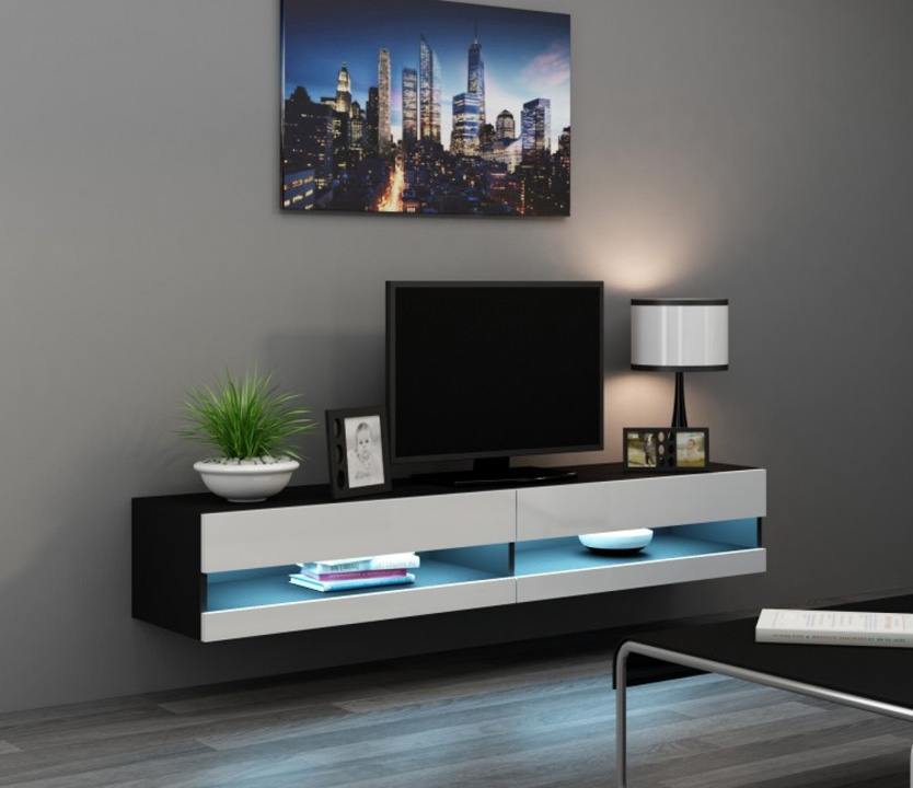 Seattle 34 - meuble tv bas