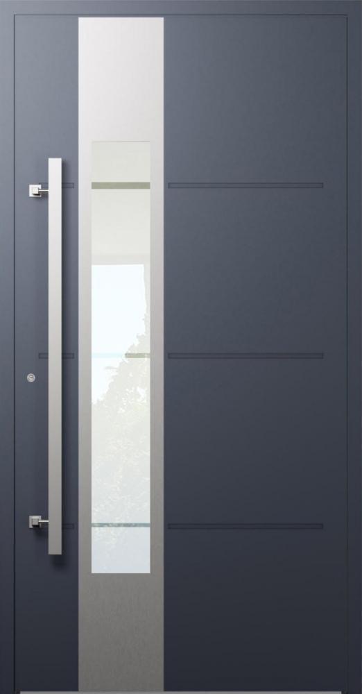 LIM W321- porte d'entrée moderne en aluminium