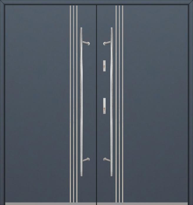 Fargo 32A double - portes d'entrée double / portes françaises