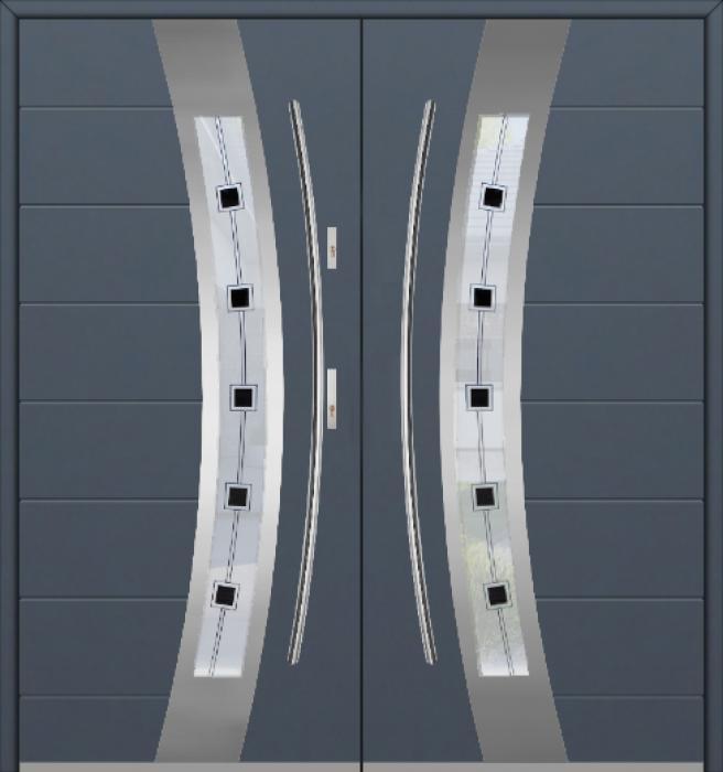 Fargo 38 double - portes d'entrée double / portes françaises
