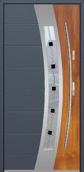 Fargo 38 DUO - porte d'entrée haut de gamme à prix discount