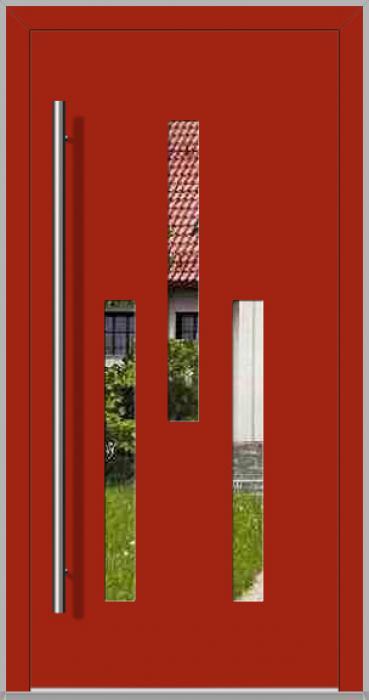 LIM TURMA - porte d'entrée moderne en aluminium
