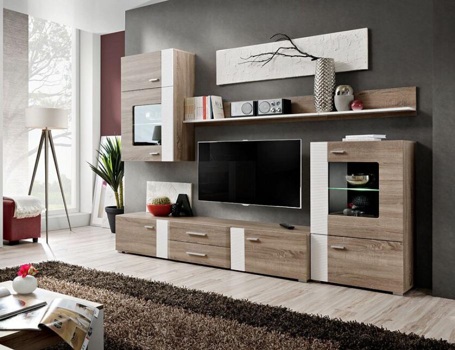 Akron - ensemble meuble tv