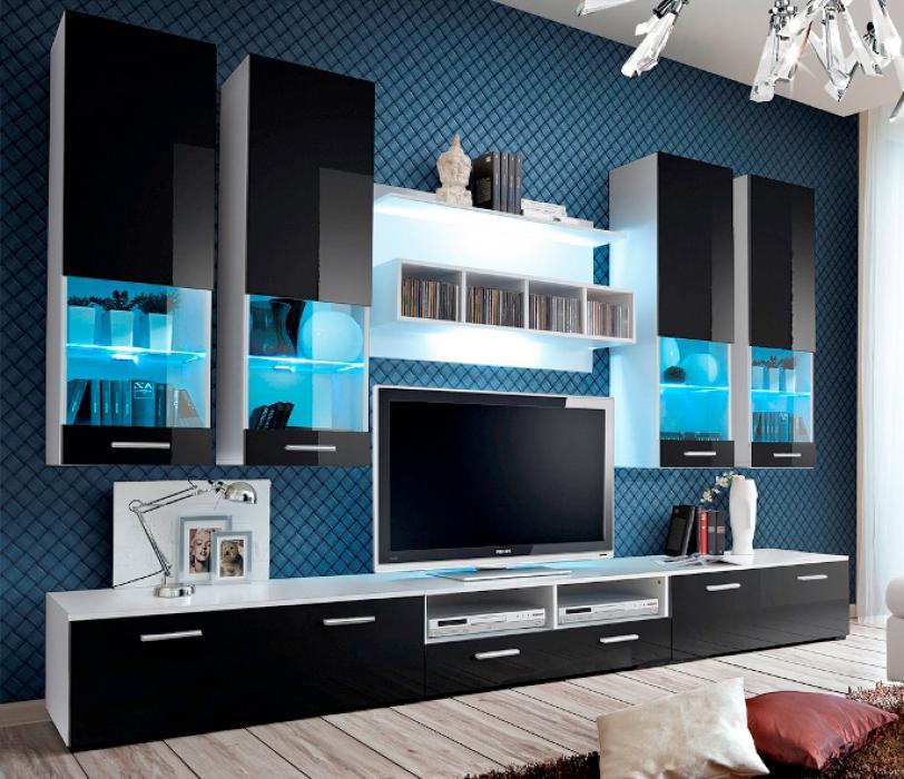 Montreal 2 - meuble tv haut