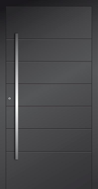 LIM AP05 - porte d'entrée en aluminium