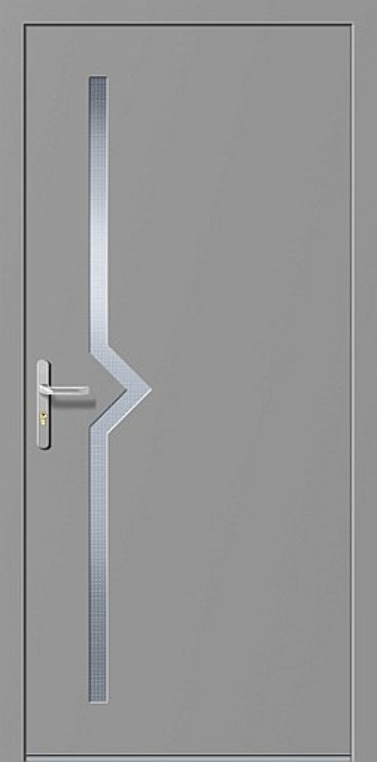 LIM Impuls - portes d'entrée en aluminium pour maisons