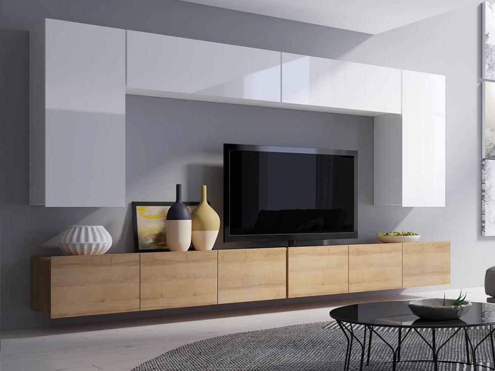 Cela 12 - Meuble TV à fixation murale