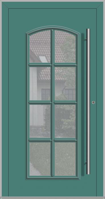 LIM RAPSODIA-T - porte d'entrée classique vitrée en aluminium
