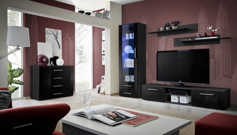 Santi 6 - meuble tv led