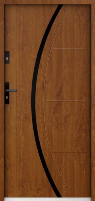 Sta Phoenix Noir - porte d entrée maison sécurisée