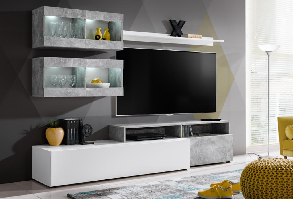Lowell - meuble de télévision