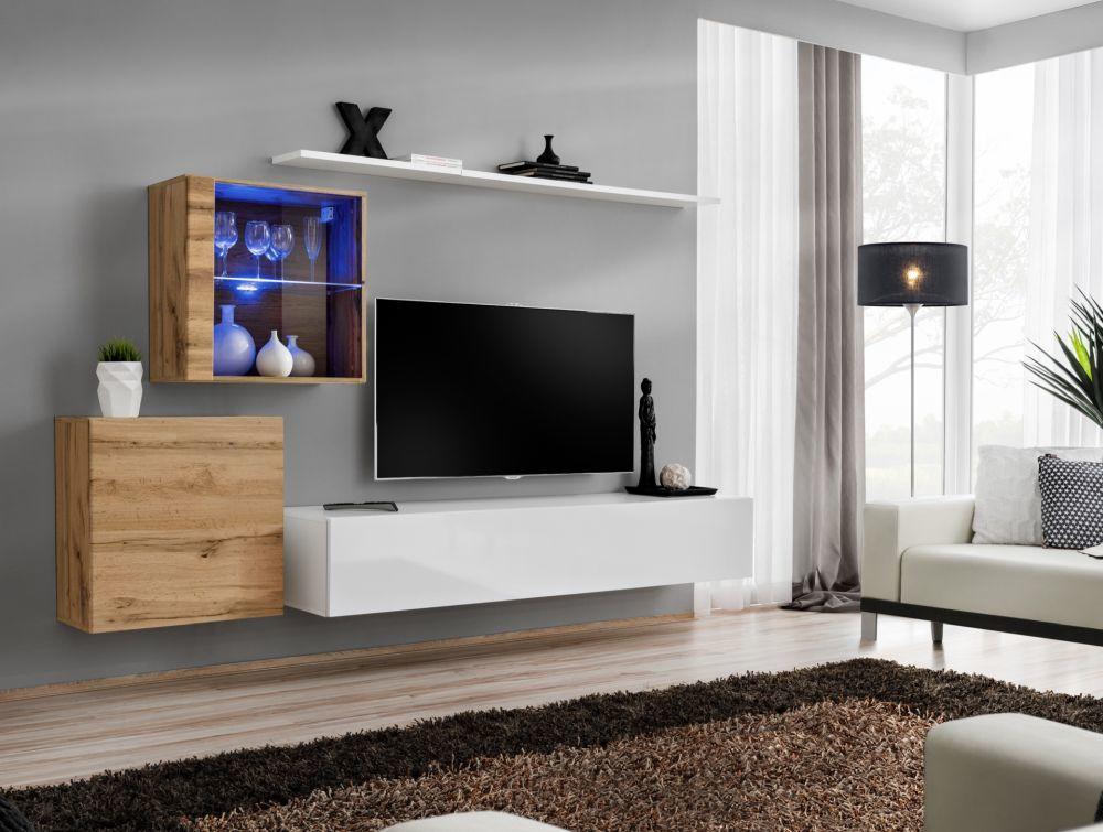 Shift 15 - meuble tv mural
