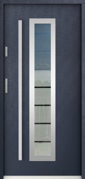Sta Hevelius - porte entree vitree