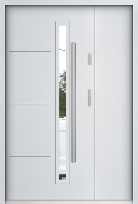 Sta Arago Uno - porte d entrée double