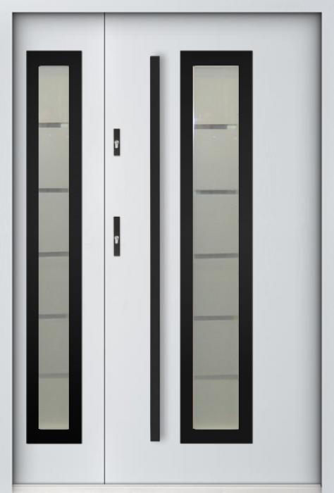 Sta Hevelius Duo Noir - porte double vantaux