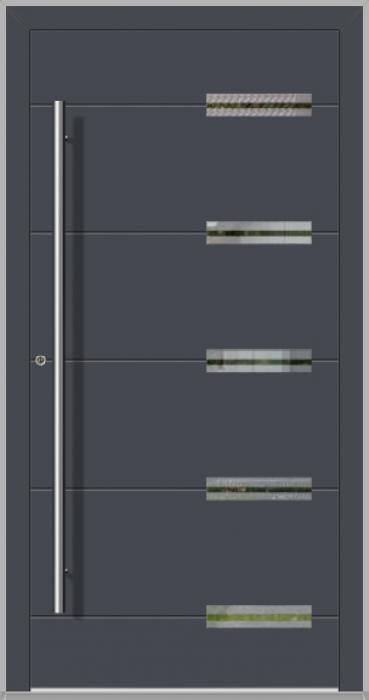 LIM Abakus - portes d'entrée en aluminium pour maisons