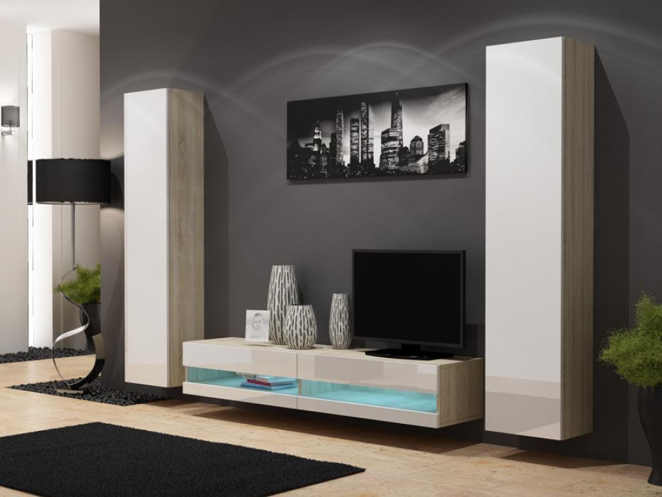 Seattle D8 - salon meuble tv