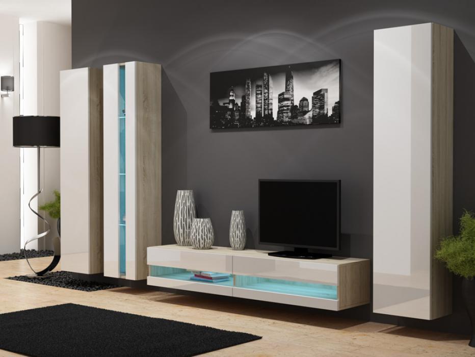 Seattle D3 - meuble tv modulable