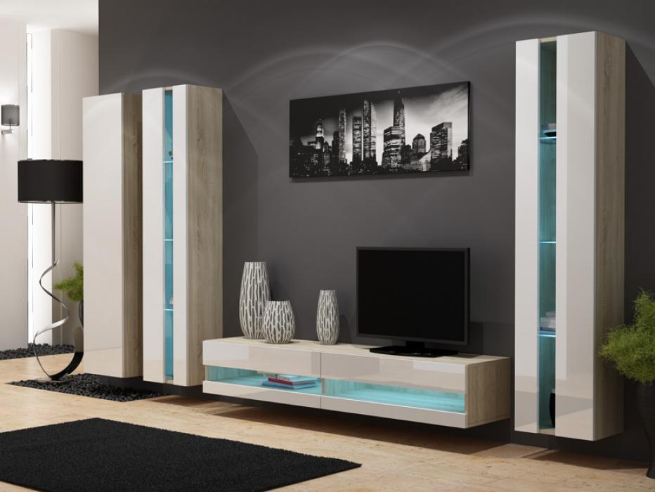 Seattle D2 - meuble tv led