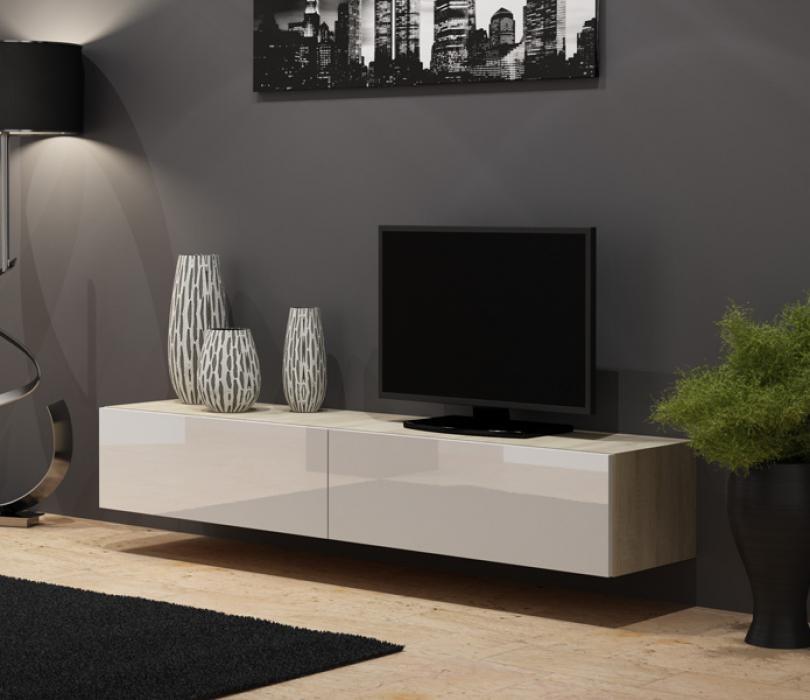Seattle 25 - meuble tv chene