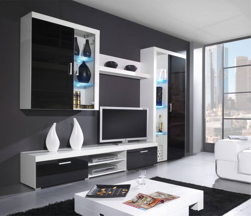 Venice 4 - intérieur meuble tv