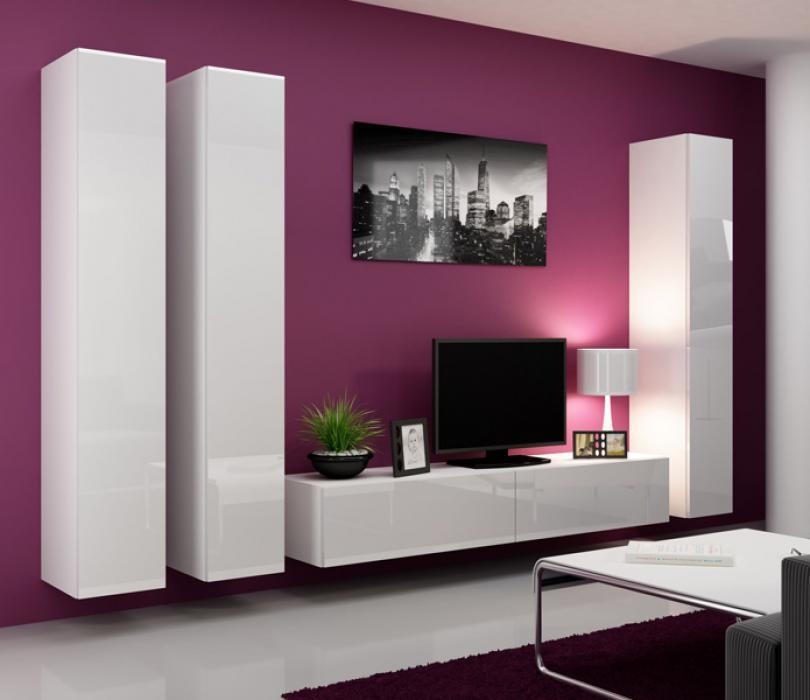 Seattle 7 - intérieur meuble tv