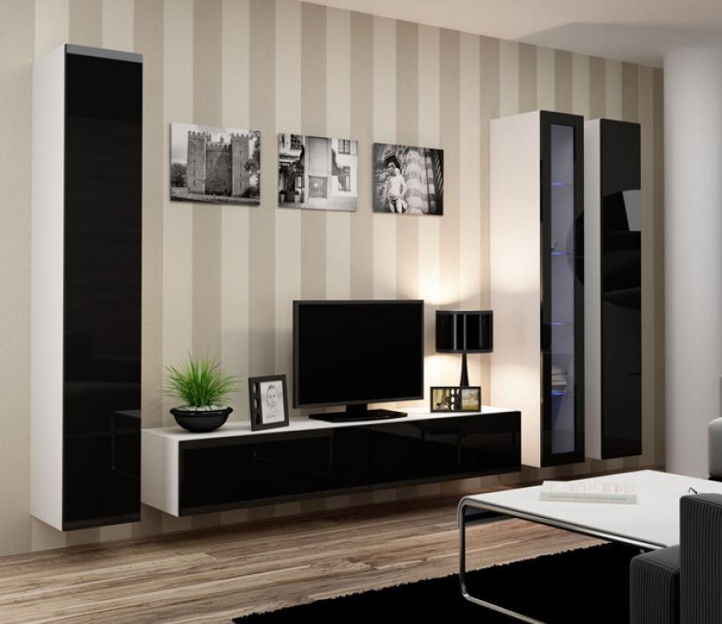Seattle 4  - meuble tv led