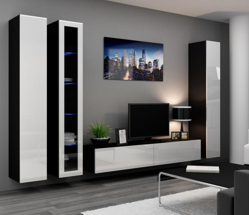 Seattle 1 - meuble tv mural