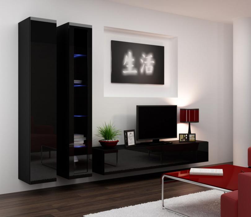 Seattle 12 - meuble tv avec rangement