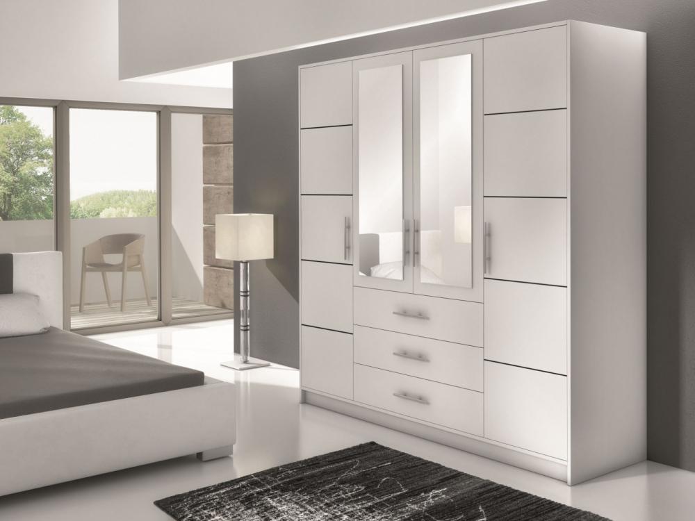 Bolton D4 - armoire blanche