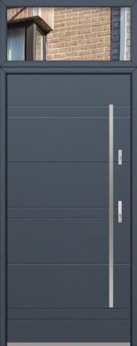 configuration personnalisée - Fargo porte avec panneau en verre supérieur