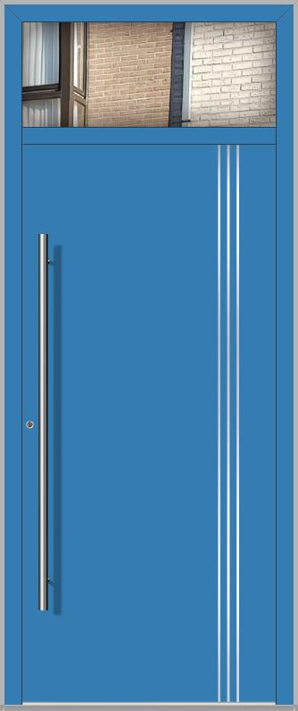 LIM porte d'entrée avec fixe latéral à Haut
