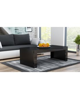 Milano coffee table - noir table basse salon